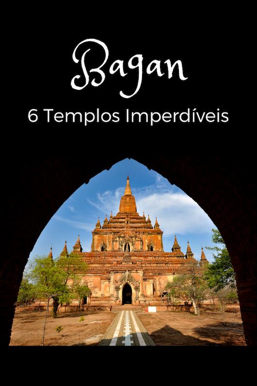 Os melhores templos de Bagan, Myanamar