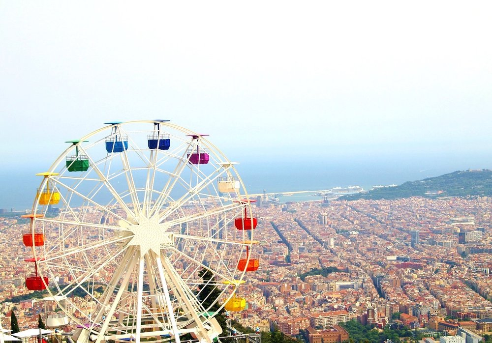Barcelona, vista de um ângulo diferente. Foto: Pixabay