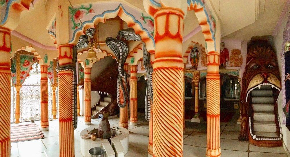 Bhagsu Hindu Temple. Foto: Patti Neves