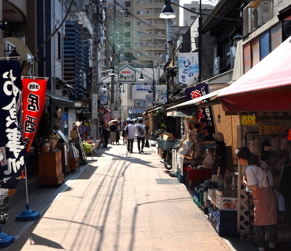 Arredores de Tsukiji, Tóquio. Foto: Patti neves
