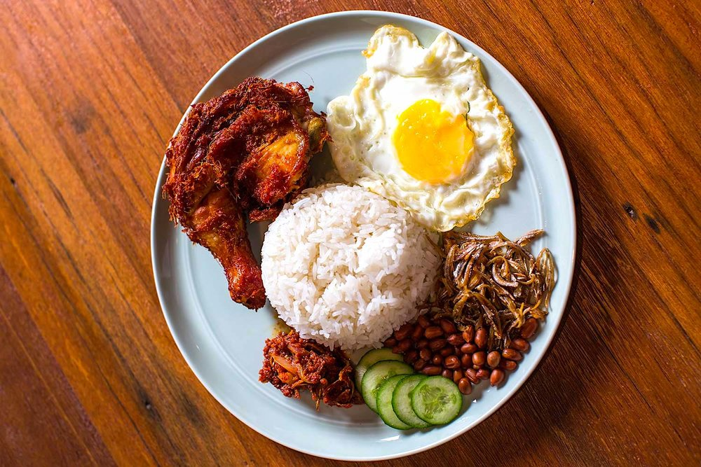 Nasi Lemak. Foto: Coconut Club