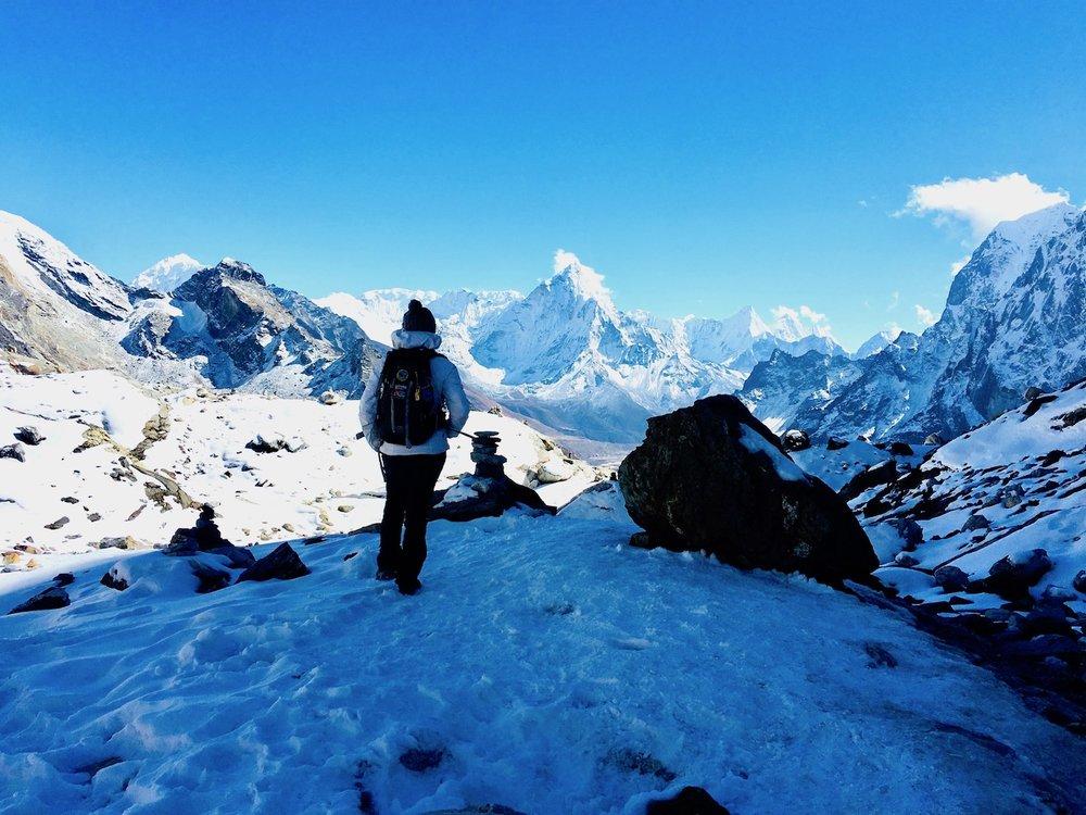 Novembro no Chola Pass (5.300m).