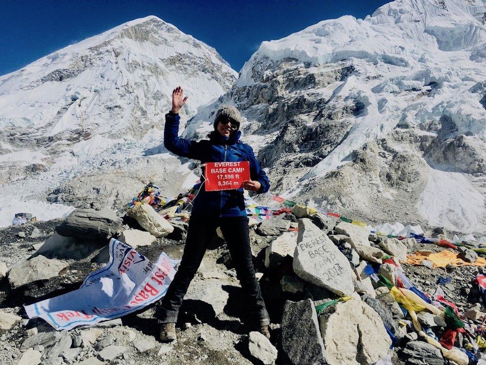 Everest base camp, a parte menos interessante da trip!