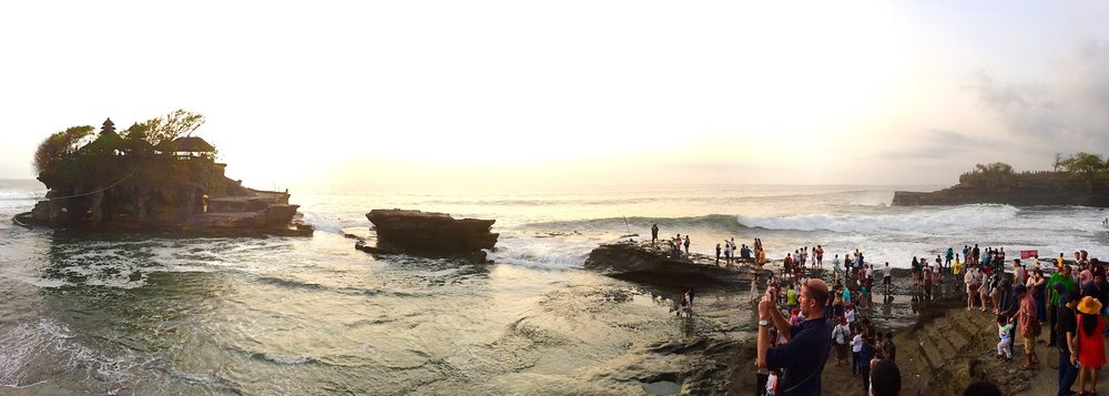 Tanah Lot, Bali. Photo: Patti Neves