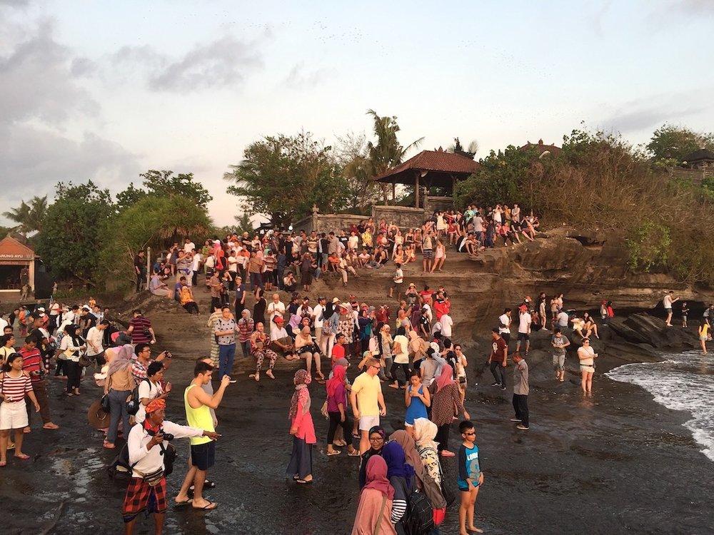 Tanah Lot, Bali. Foto: Patti Neves