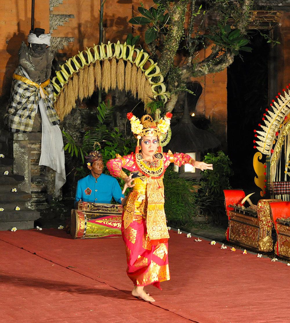 Dança Balinesa. Foto: Patti Neves