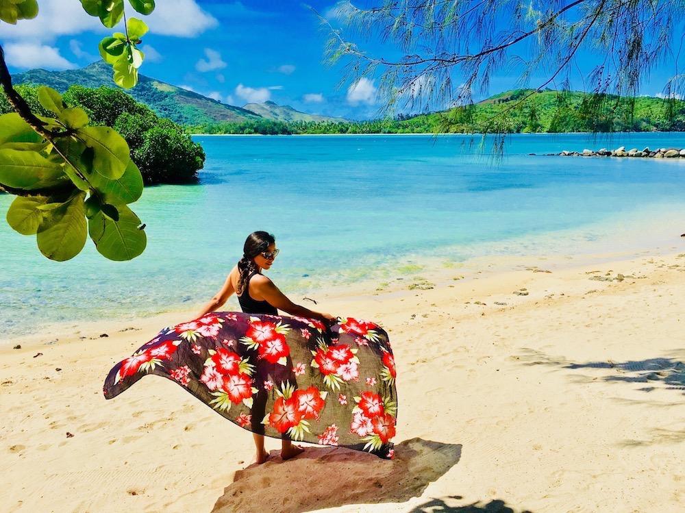 Divando em Fiji. Foto: David Mattatia