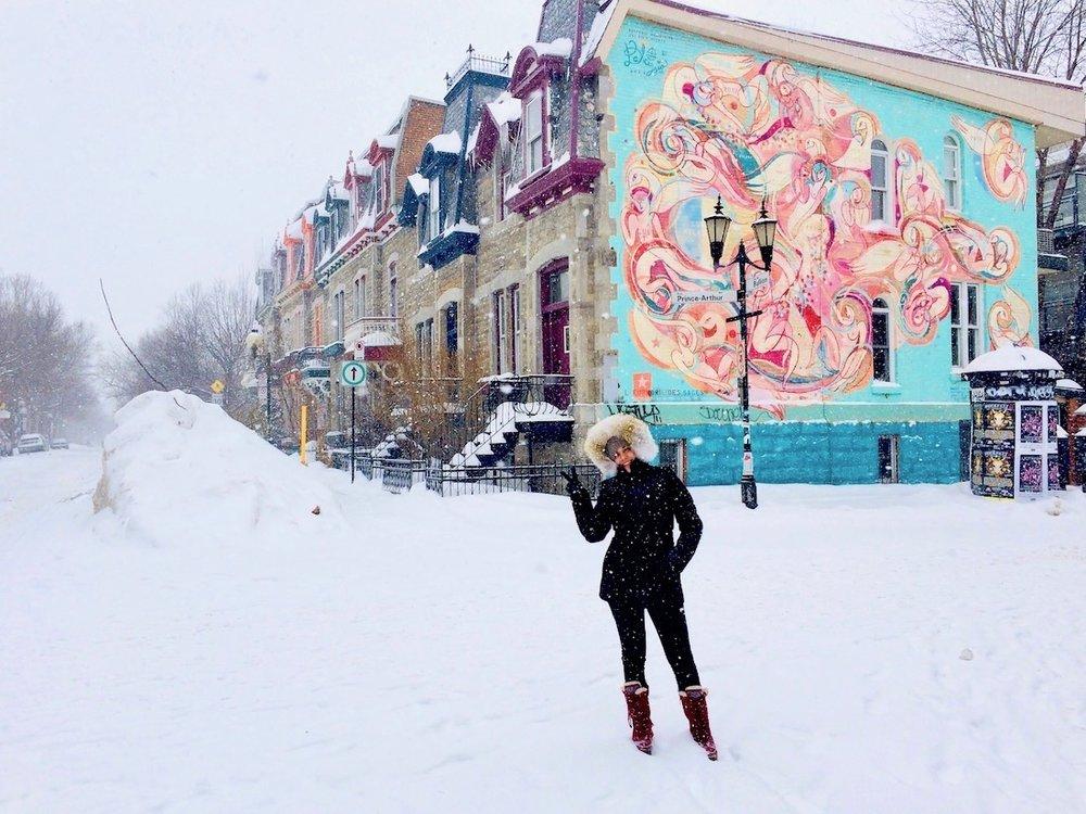 Morei 7 anos em Montreal mas ninguém nunca veio me visitar no inverno… por que será ?!