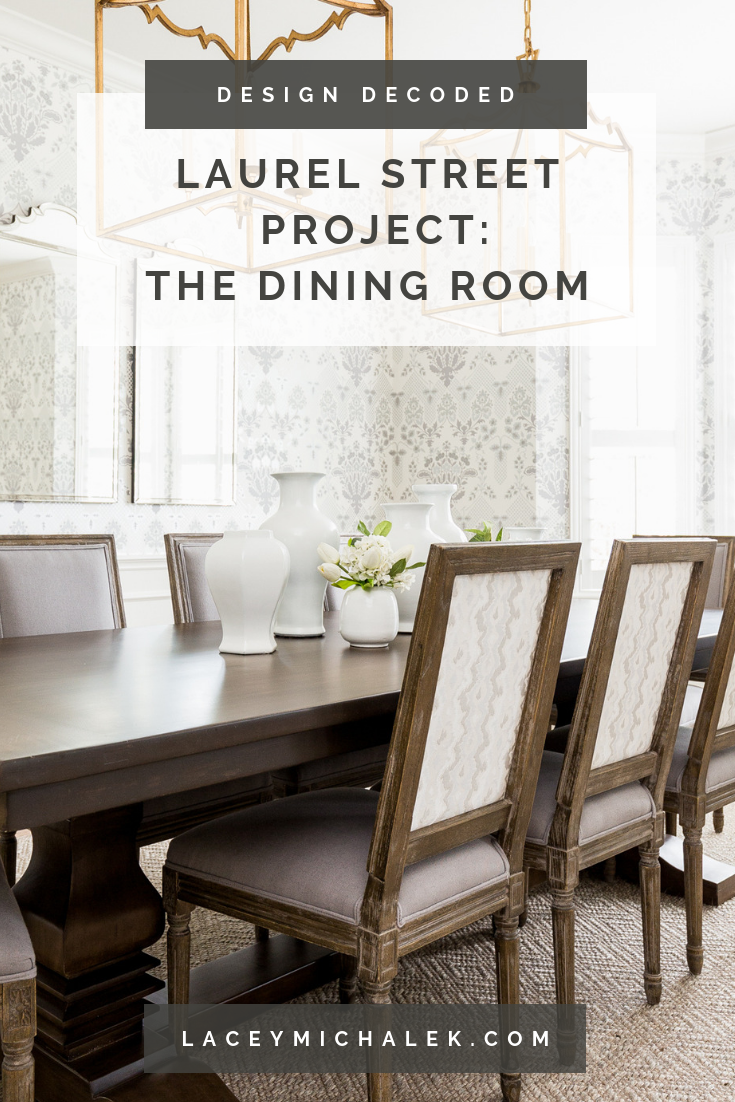 Laurel Street Project: The Dining Room