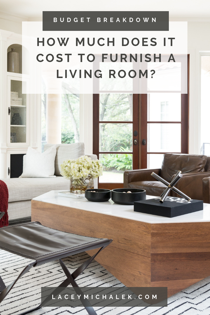 How much does it cost to furnish a living room budget breakdown