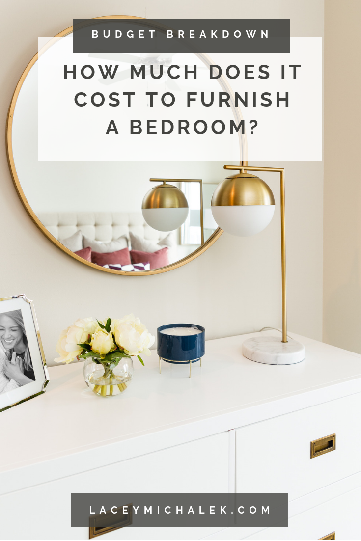 How much does it cost to furnish a bedroom budget breakdown