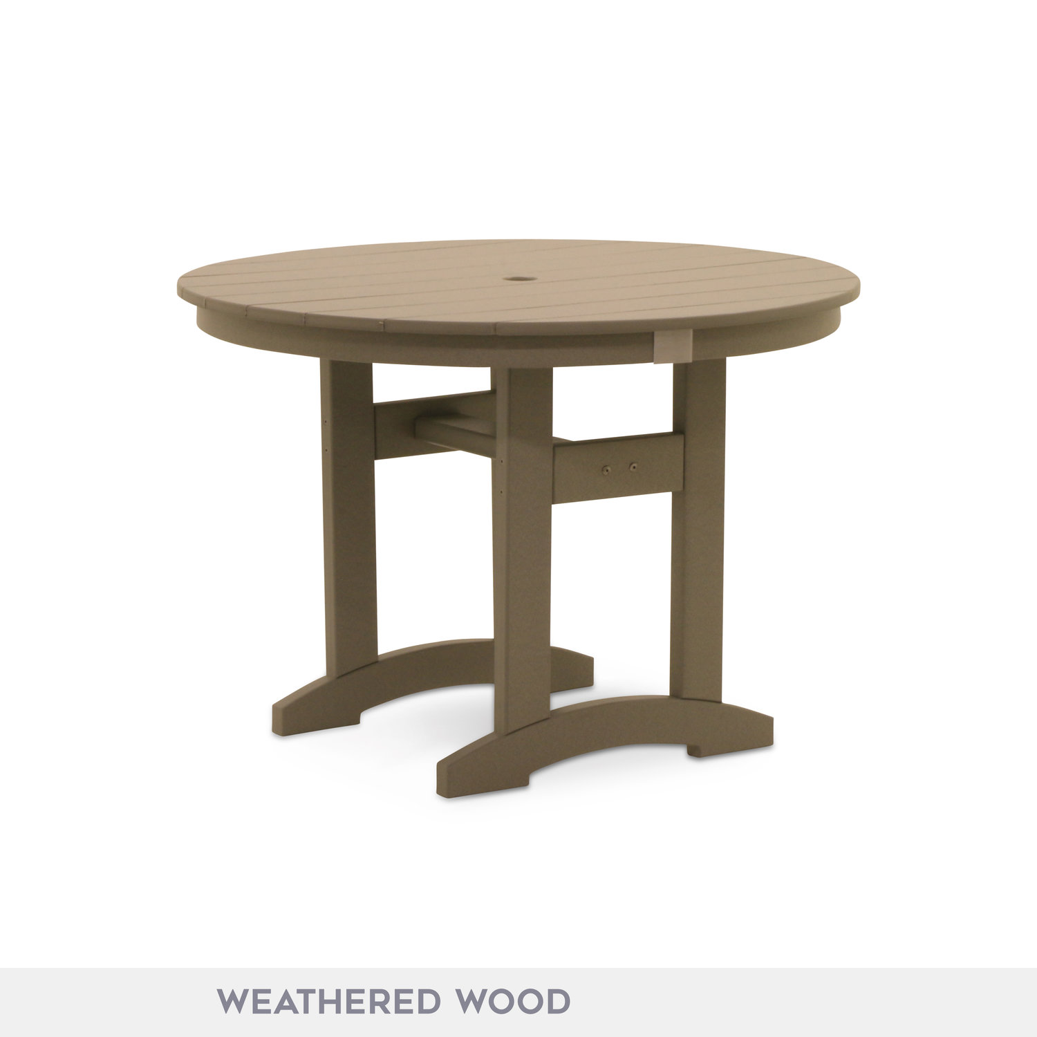 Durogreen 42 round dining table