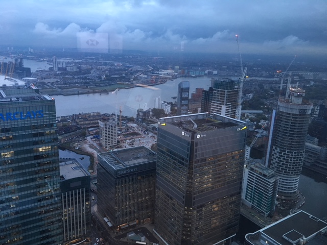 The view from floor 41