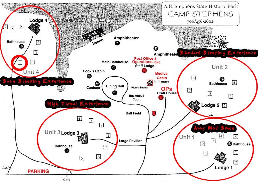 A.H. Stephens Map