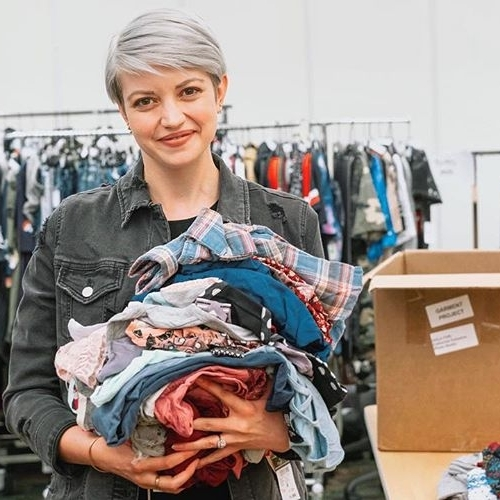 NATIONAL RETAILERS DONATE NEW CLOTHING - Garment receives donations of new, never worn clothing from generous retailers like Aerie, American Eagle, ModCloth, rue21 and more.
