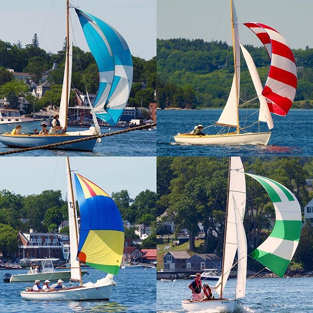 Castine Class racing series continues today with the 3rd set of the season. Come out and watch!!