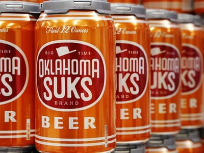 In Stock! - - - #texas #texaslonghorns #football #oklahoma #sooners #ou #redriver #austin #atx #collegefootball #heisman #beer #craftbeer