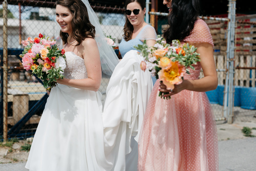 Standard Downtown Knoxville Wedding Venue Central Avenue Happy Holler Bridesmaids