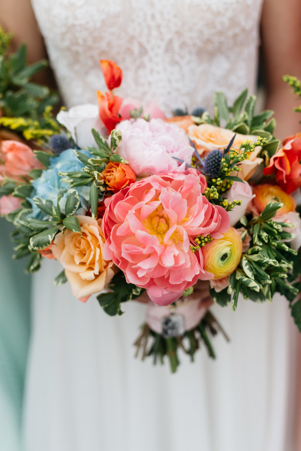 Standard Downtown Knoxville Wedding Venue Central Avenue Happy Holler Bouquet