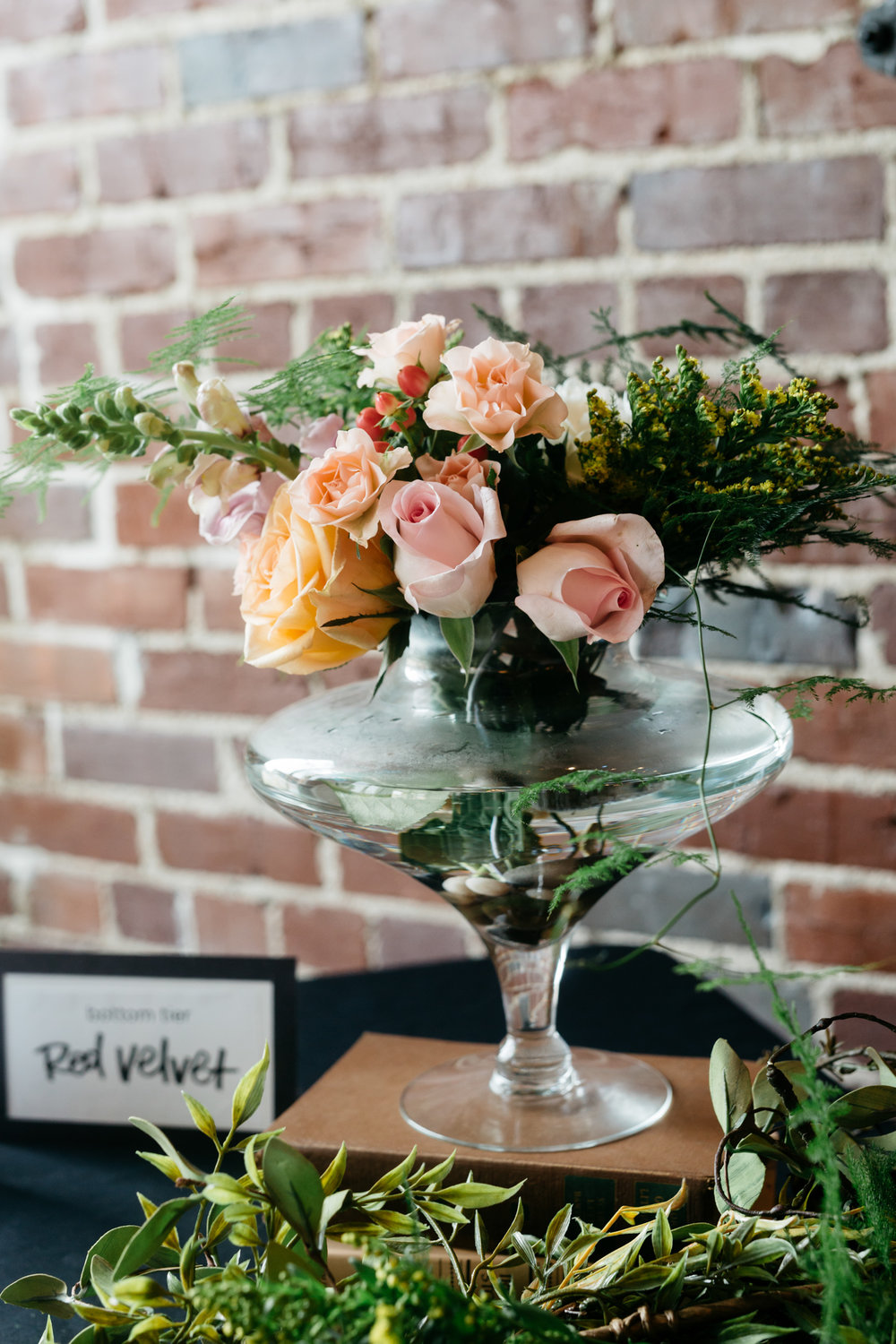 Standard Downtown Knoxville Wedding Venue Central Avenue Happy Holler Flowers