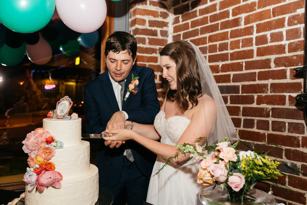 Standard Downtown Knoxville Wedding Venue Central Avenue Happy Holler Cake