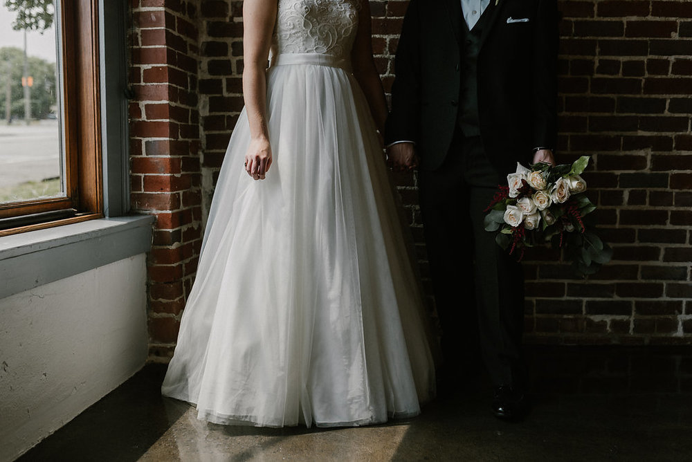 Standard Downtown Knoxville Wedding Venue Exposed Brick