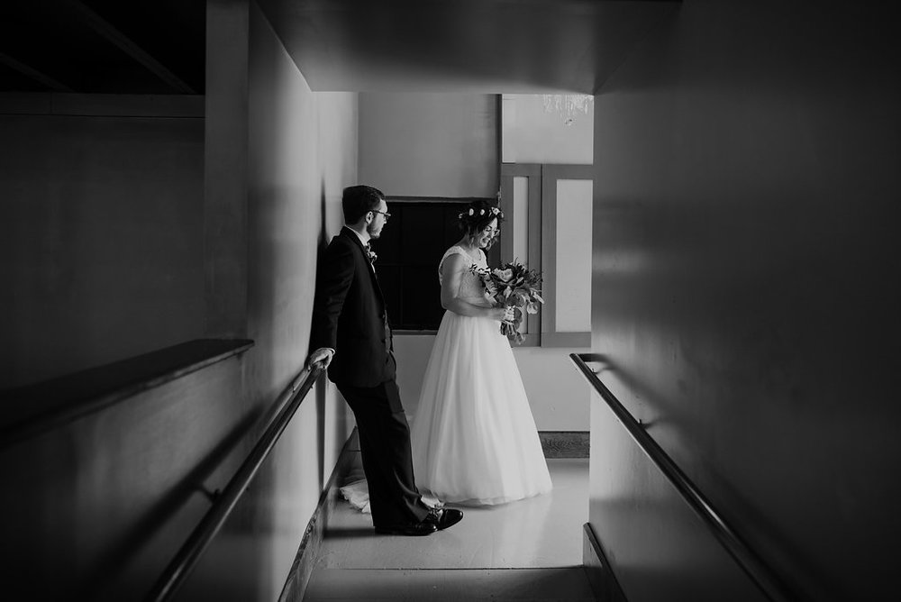 Standard Downtown Knoxville Wedding Venue Lighting