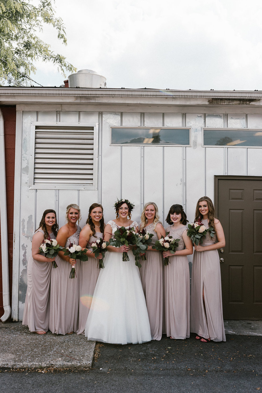 Standard Downtown Knoxville Wedding Venue Bridesmaids