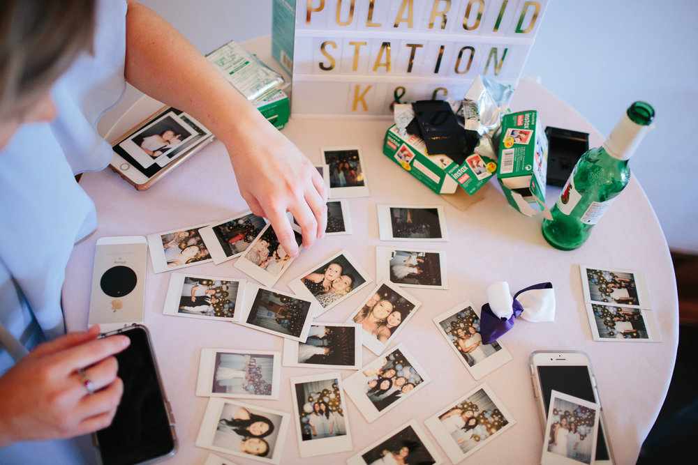 Downtown Knoxville Wedding Reception Venue // Botanical Wedding // Polaroid Station