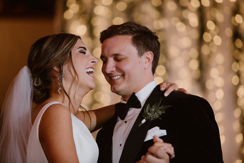 Downtown Knoxville Wedding Venue // White Flowers & Greenery // Knoxville Florist