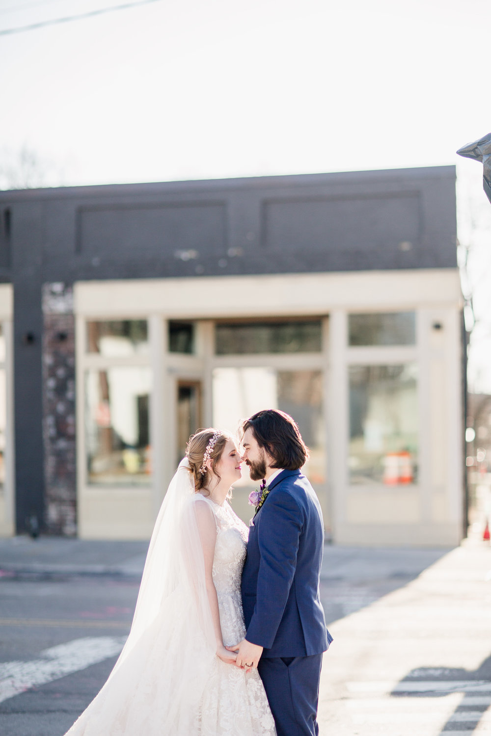 Downtown Knoxville Wedding Venue // Central Avenue Reception // Bridesmaids // Bride & Groom Portraits