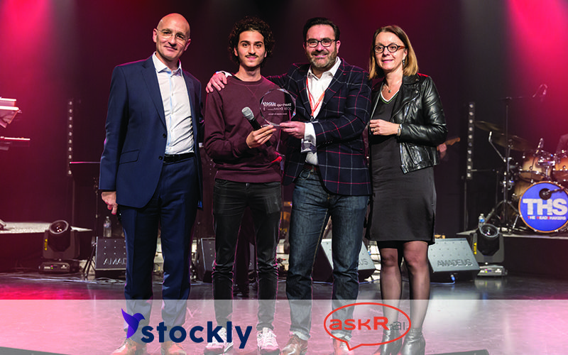 ICC startUpAwards Gagnants askR.ai Stockly