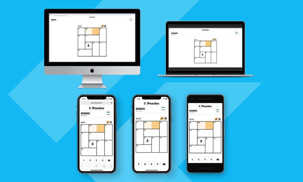 We built the first public flutter web app. - For Google I/O 2019, we collaborated with Google and the New York Times to build a multi-platform version of the KENKEN word puzzle application. We are one of the first development teams to build something public available on the web using Flutter.