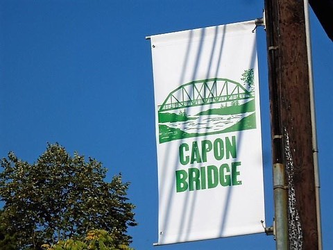 Hey folks -- have you seen a few of the new Capon Bridge street banners?  They've been up for a few weeks (where the old holiday banners were) and we hope to add 12 more . Visit Capon Bridge is a busy group -- and happy to have any new volunteers to join in our activities.  Just send us your email and we'll let you know when we meet next! . #visitcaponbridge #westvirginia #mywv #gotowv