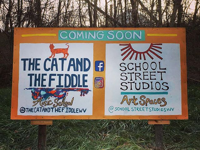 Happy Thanksgiving from Capon Bridge! . Check out this exciting new venture in town -- @schoolstreetstudioswv . And LIKE the page to keep posted on renovation progress and the 2019 Opening! . #visitcaponbridge #westvirginia #artstudio