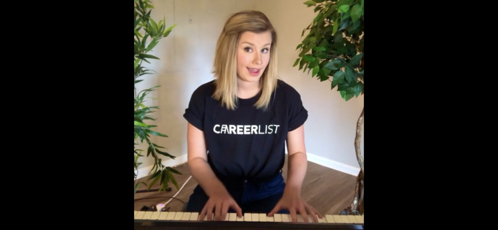 (VIDEO)  Sing up...oops, I mean, sign* up for an exclusive (FREE)membership at  Careerlist.com  today!