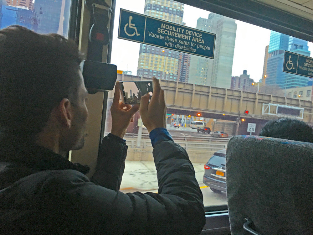 Shafiq arrives in New York