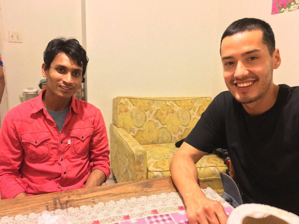 Mohammad and Alex in Philadelphia