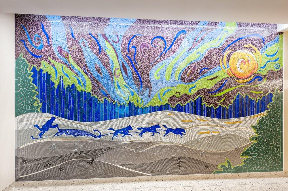 MSP Airport - Restroom Mosaics