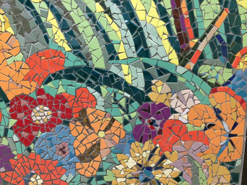 Mosaic Detail by Susan Warner