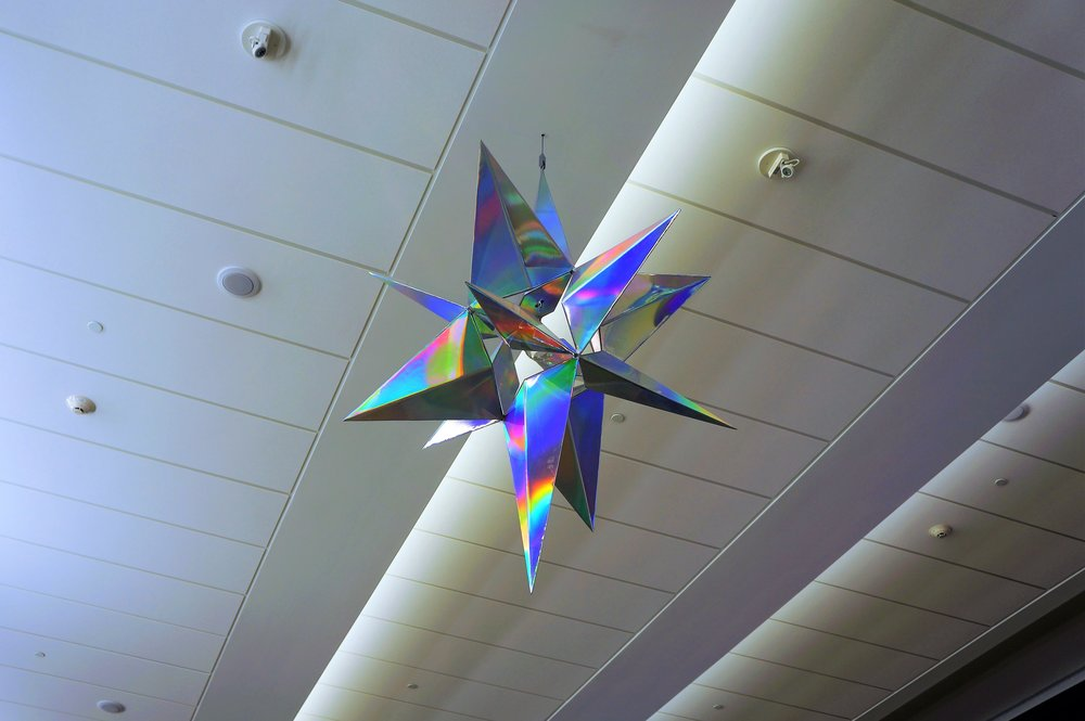'The Rainbow Star' by Philip Noyed  Terminal 2, MSP Airport