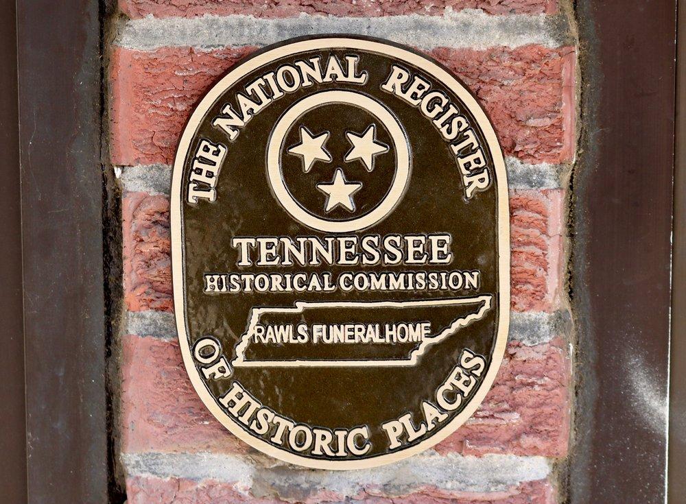 Heritage Rawls NR Plaque1 Rawls Funeral Home 2016 Hayes.jpg