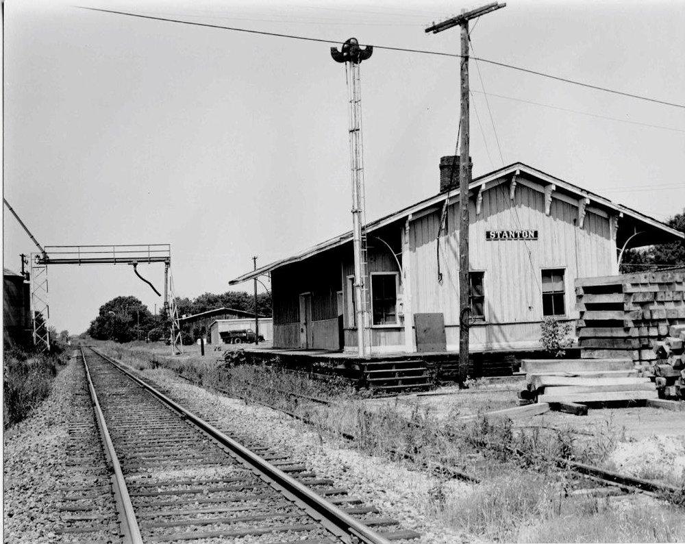 L&N Railroad, Stanton, TN 1968