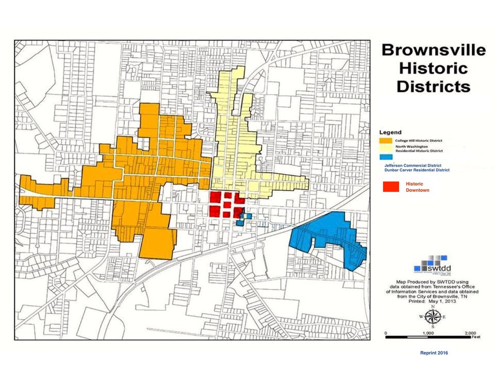 Historic Districts, Reprint 2016