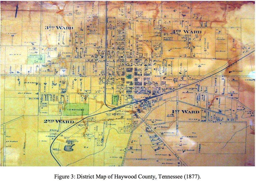 Ward Map 1877