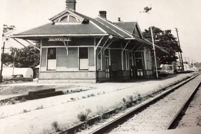 Brownsville LN Railroad Depot 1968
