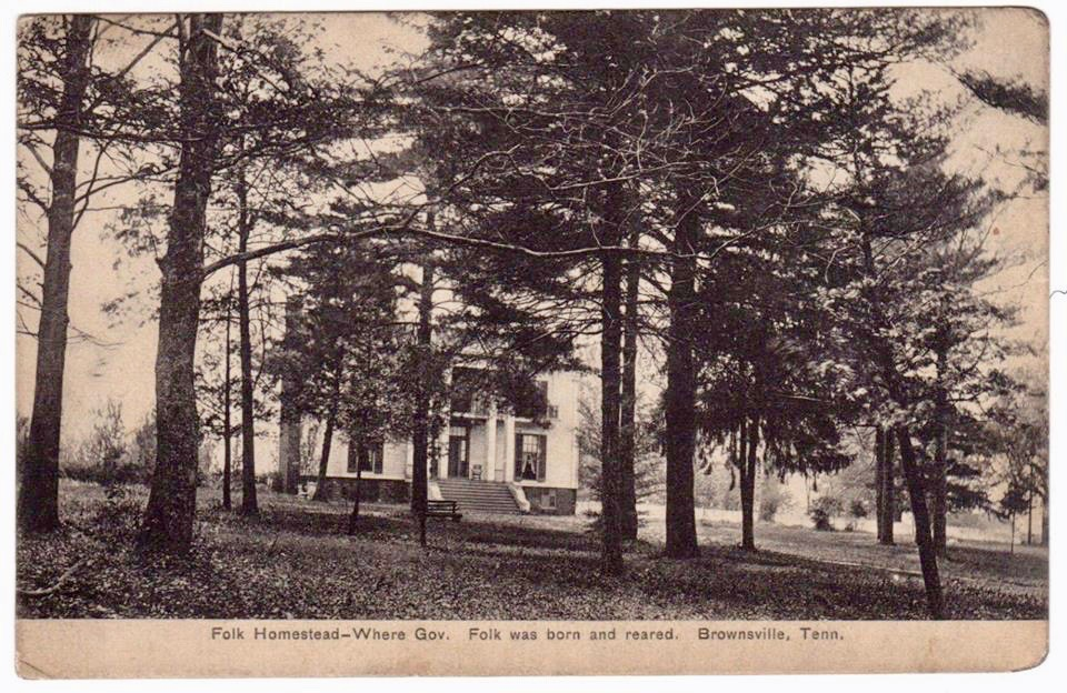 Folk Nixon Sellar Home, Postcard