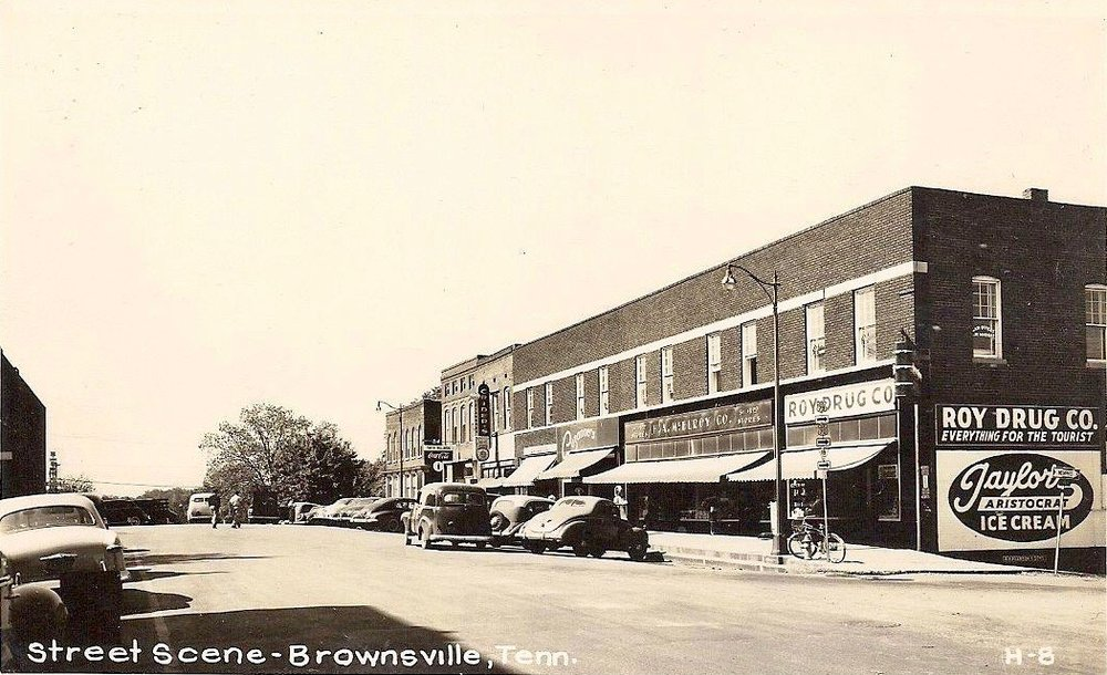 Brownsville Square - S Lafayette 1950's