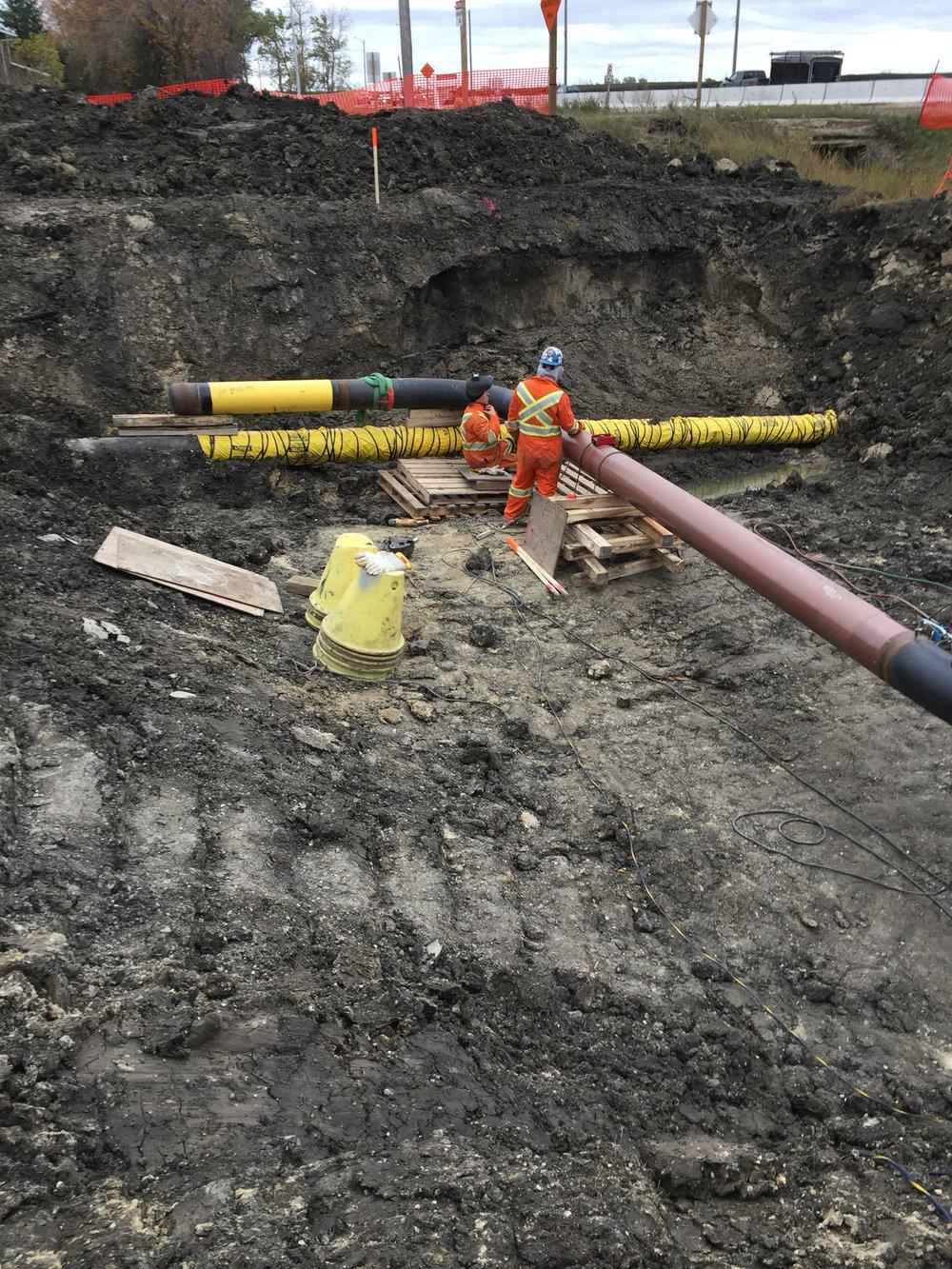 Transmission Pressure Pipeline