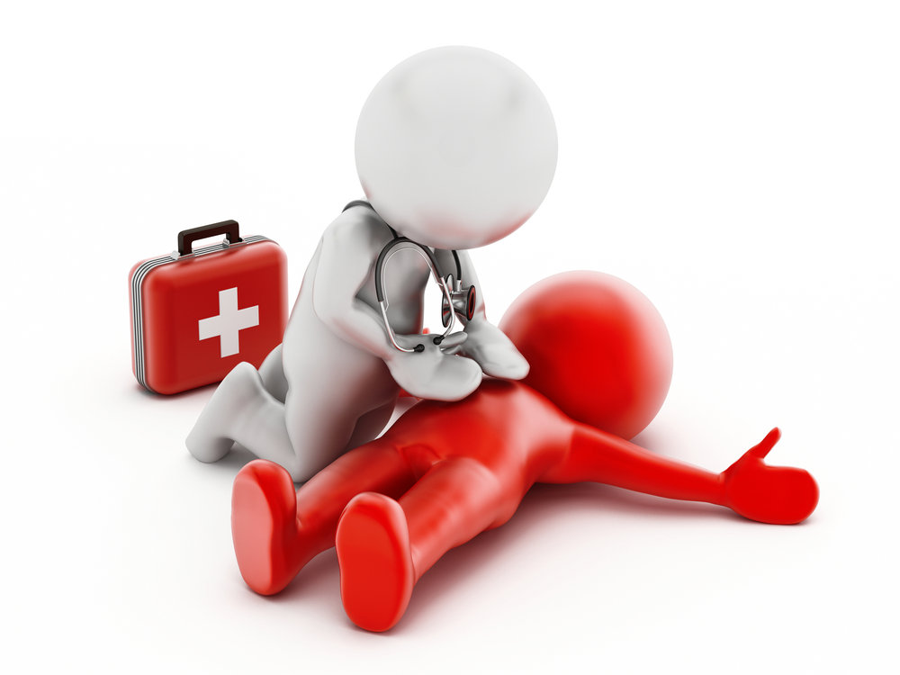 CPR/AED Training - In addition to taking our personal trainer courses you can also become CPR/AED certified for a 2-year period at a minimal additional cost.